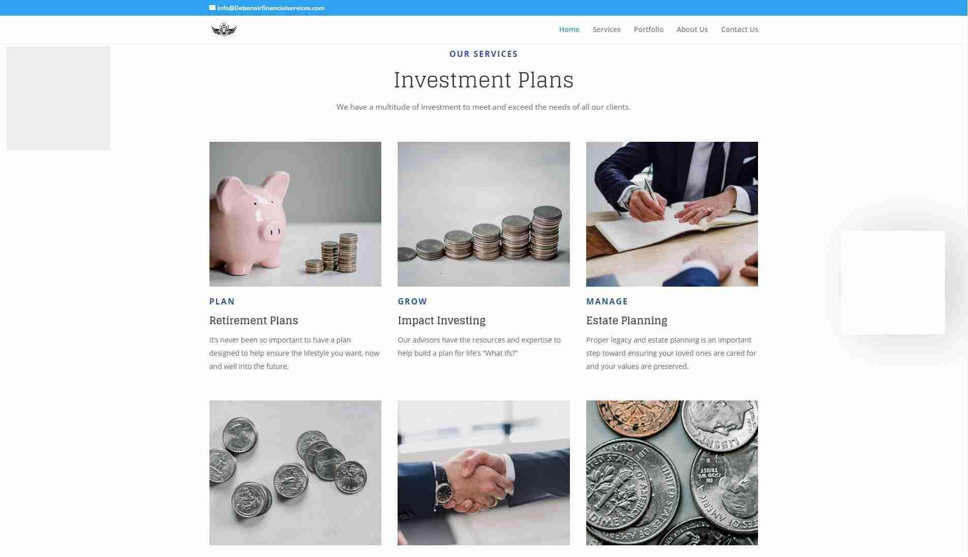 debonaire financial services
